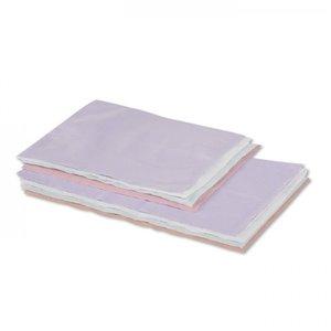 SafeBasics Tissue/Poly Head Rest Covers  10 x 13  Dusty Rose, 500CS