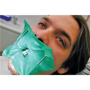 Dental Dam Green 6x6 Thin, 36 /PKG 1PKGCS