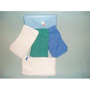 17x25In OR Towel Blue Prewashed Sterile 6/Pouch, 6/PCH  12/PCH  72CS